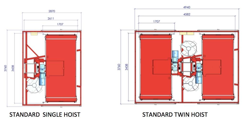 Passenger Material Hoist Rack And Pinion Construction